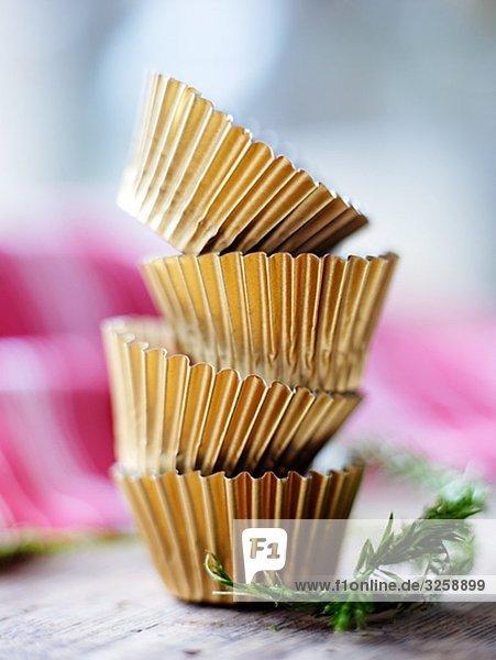 Eis Schokoladeformen  Nahaufnahme.