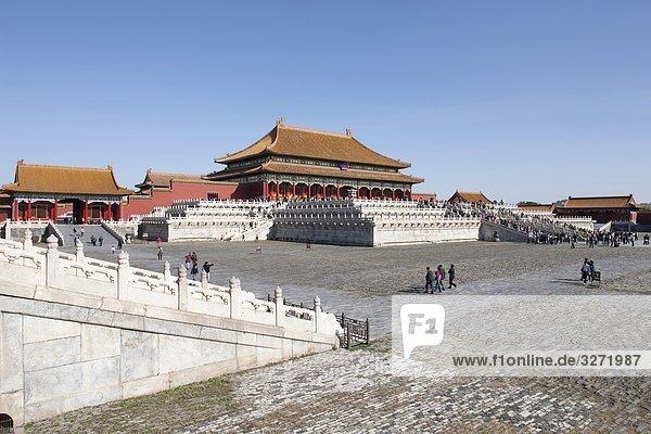 Hall of supreme harmony (Taihe Dian)  Forbidden City  Beijing  China