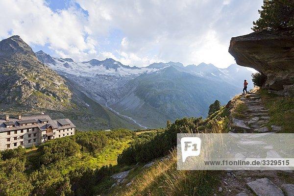 Berliner Hütte  Zillertaler Alpen  Tirol  Österreich