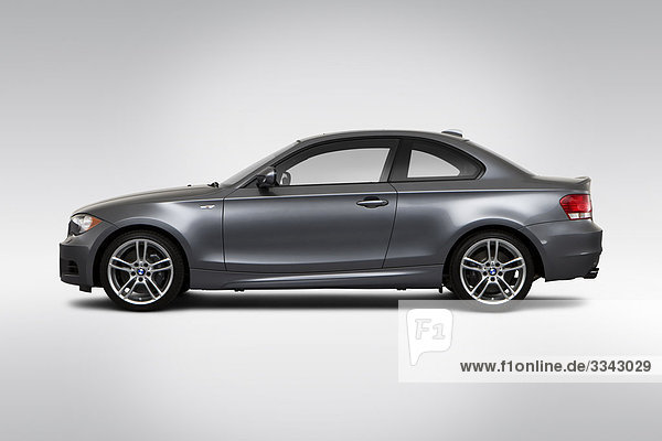 Profil Profile grau fahren BMW Seitenansicht
