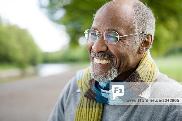 Portrait of a senior man  Sweden.