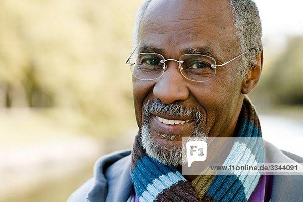 Porträt eines älterer Mannes  Schweden.