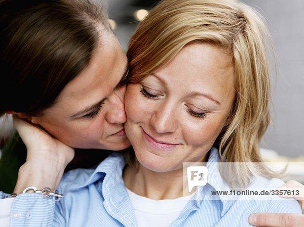 Verliebtes lesbisches Paar Verliebtes lesbisches Paar