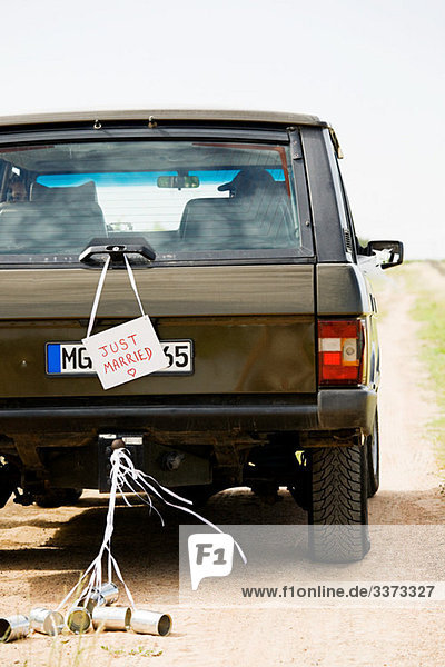 Ehepaar Verkehr Zeichen Signal
