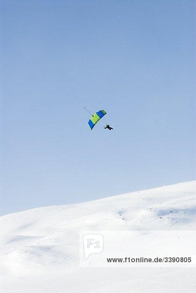 Fallschirmspringen  Schweden.