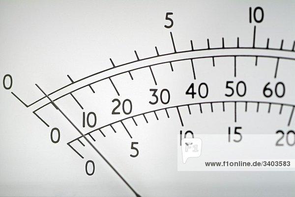 Meter Display  Close Up