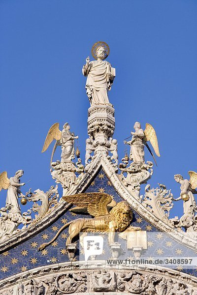 Markusdom  Venedig  Italien  Detail