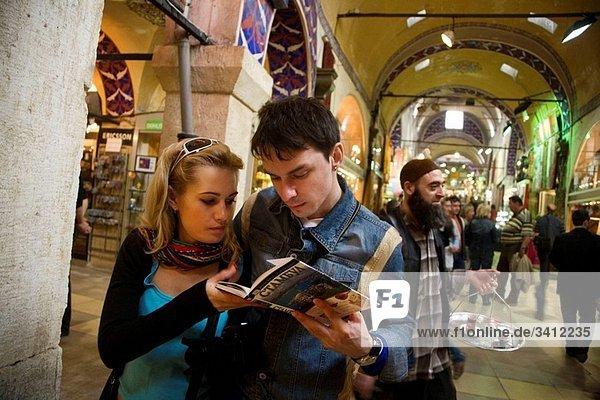 Grand Bazaar (Kapalicarsi)  Istanbul  Turkey