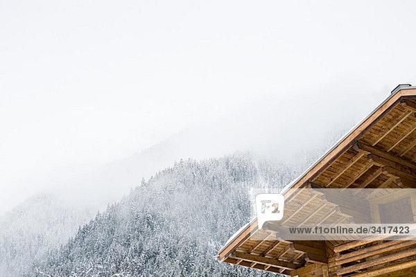 französisch Chalet Alpen
