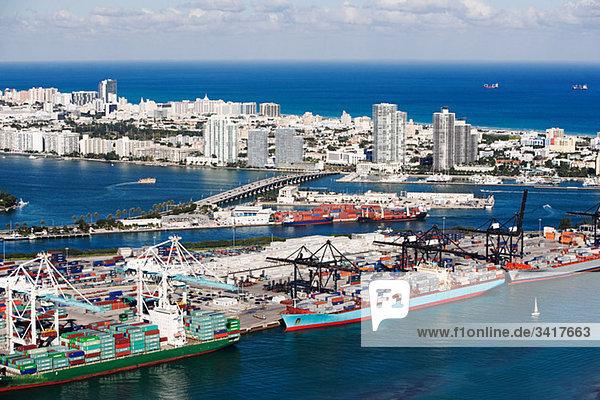 Hafen von Miami