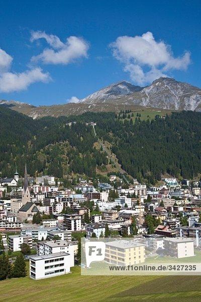 Schweiz  Graubünden  Davos