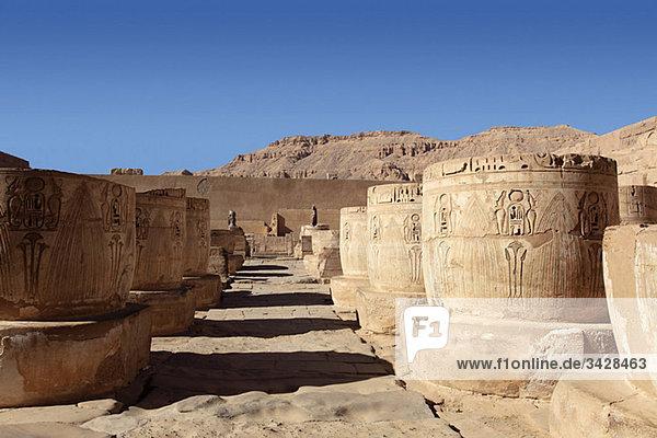 Habu-Tempel Ägypten