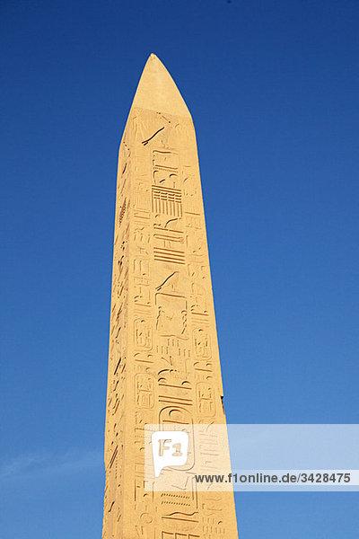 Obelisk am Karnak-Tempel
