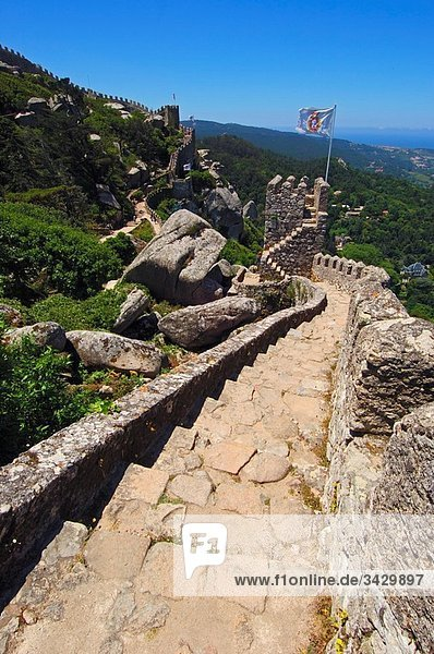 Castelo dos Mouros (Castle of the Moors)  Sintra  Portugal