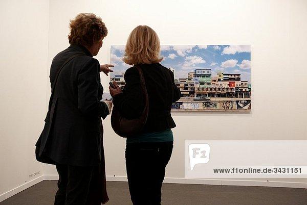 ARCO International Fair of Contemporary Art  IFEMA exhibition center  Madrid  Spain