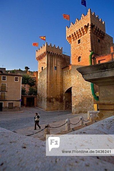 Spain  Zaragoza province Daroca: Low door / Puerta baja