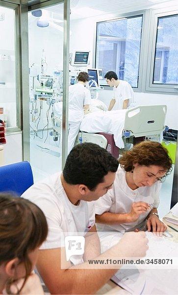 ICU (Intensive Care Unit)  Hospital Policlinica Gipuzkoa  San Sebastian  Donostia  Euskadi  Spain