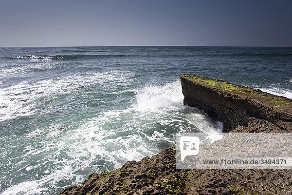 Felsenküste  San Diego  Kalifornien  USA  Erhöhte Ansicht