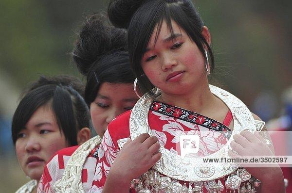 Asia  China  Guizhou Province  Guyang Area  Gulong Village  Lusheng Festival  Miao minority