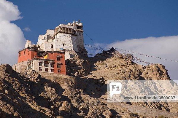 Buddhist Monastery of Leh Ladakh  India