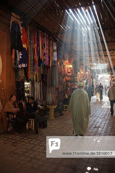 Morocco - In the souks of Marrakesh