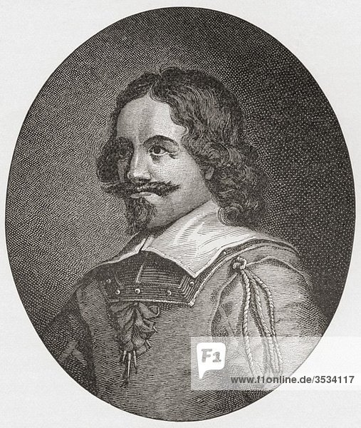 Alexander Leslie  1st Earl of Leven  1582 to 1661 Scottish soldier in Dutch  Swedish and Scottish service From the book Short History of the English People by J R Green published London 1893
