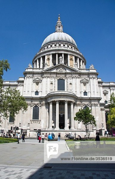 St Paul´s Cathedral  London  England