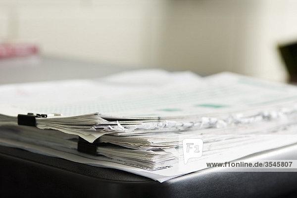 Dokumentenstapel