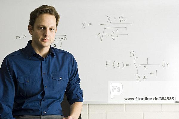 Mathelehrer  Porträt