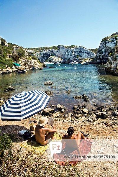 Cales Coves  Minorca  Balearic Islands  Spain