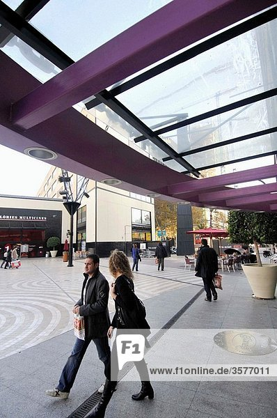 Glories shopping mall  Barcelona. Catalonia  Spain