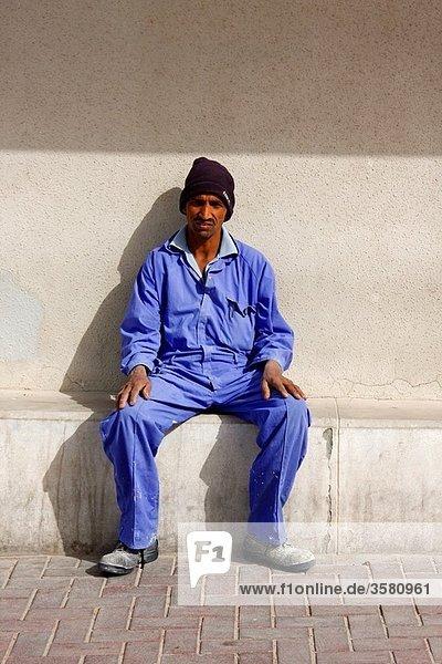 Portrait of a Sri Lankan man living in Doha  Qatar