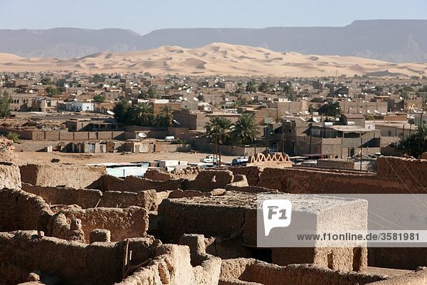 Old city at Ghat Oasis  Medina  Ghat  Libia