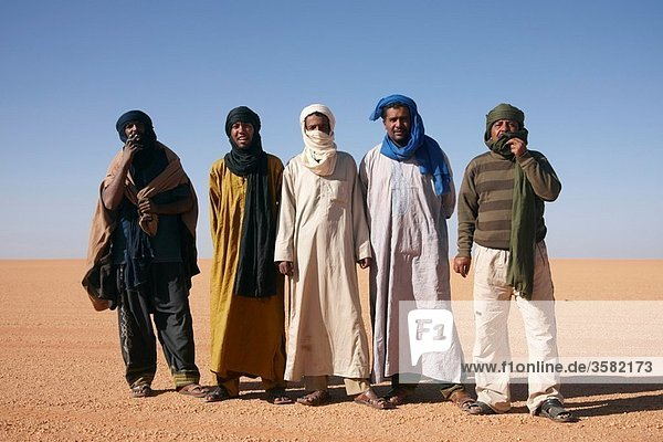 Tuaregs  Ghat  LibiaAdults