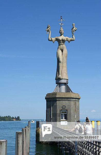 Imperia-Statue  Baden-Württemberg  Deutschland  Europa Imperia-Statue, Baden-Württemberg, Deutschland, Europa