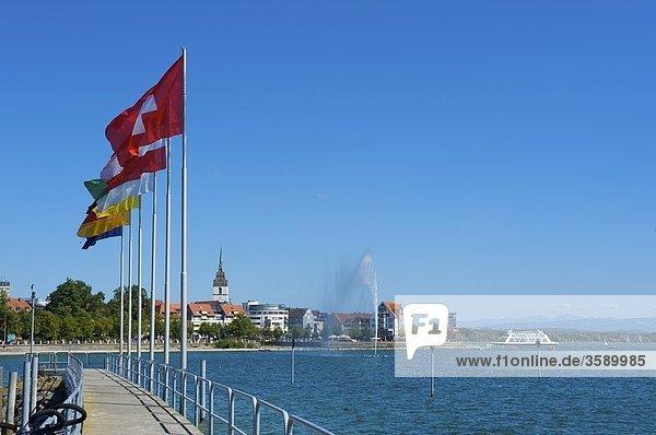 Hafen  Friedrichshafen  Baden-Württemberg  Deutschland  Europa Hafen, Friedrichshafen, Baden-Württemberg, Deutschland, Europa