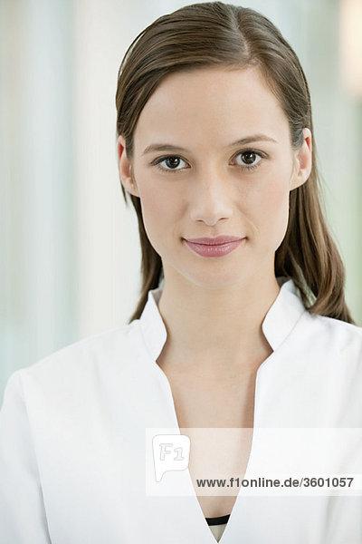 Porträt einer Ärztin