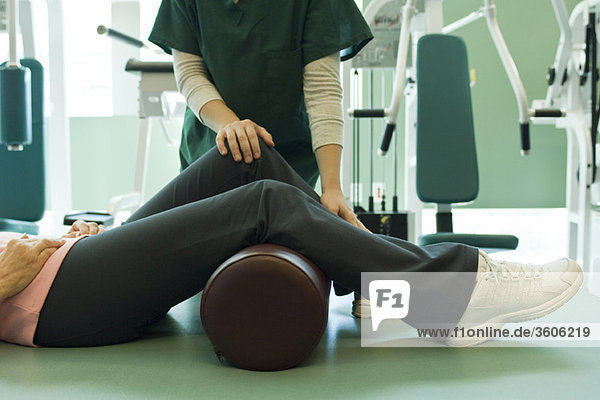 Physiotherapeutisch behandelter Patient