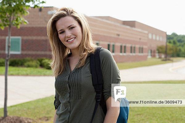 Portrait einer Gymnasiastin