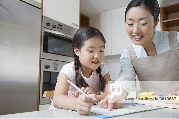 Japanischen Familie