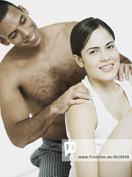 Mann Massage Close-up Menschliche Schulter Schultern Mittelpunkt Erwachsener