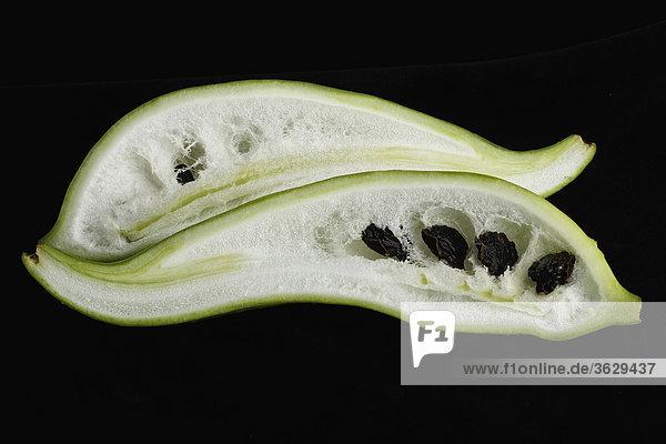 Nahaufnahme einer Pepino Obst
