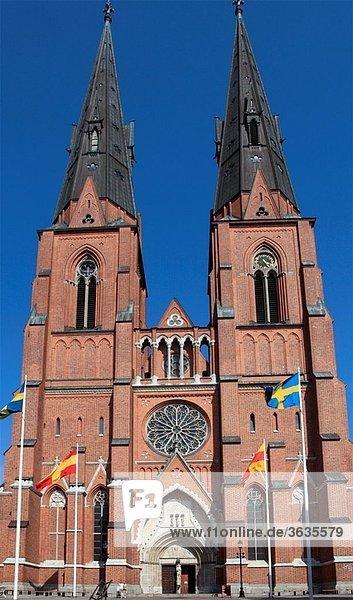 Sweden  Uppsala  Domkyrkan  Cathedral