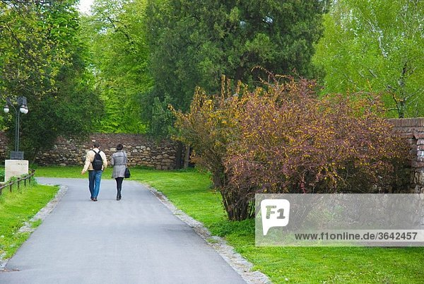Kalemegdan park central Belgrade Serbia Europe