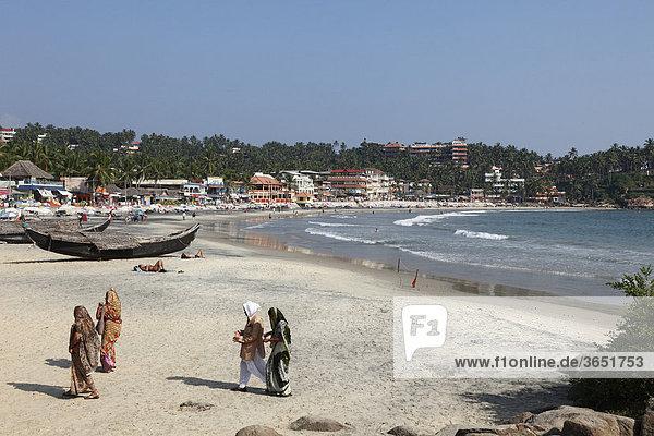 Kovalam  Lighthouse Beach  Malabarküste  Malabar  Kerala  Südindien  Indien  Asien