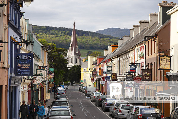 Henry Street  Kenmare  Ring of Kerry  County Kerry  Irland  Britische Inseln  Europa