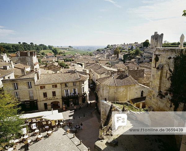 Saint-Emilion  Gironde  France  Europe