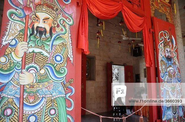 George Town  Penang (Malaysia): the Hainan Chinese Temple