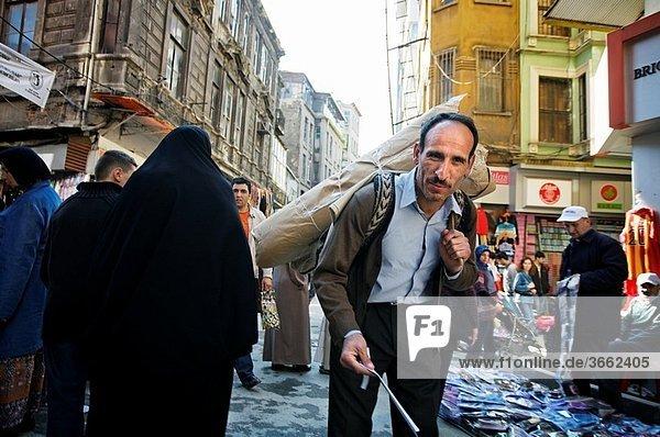Grand Bazaar. Istanbul. Turkey.