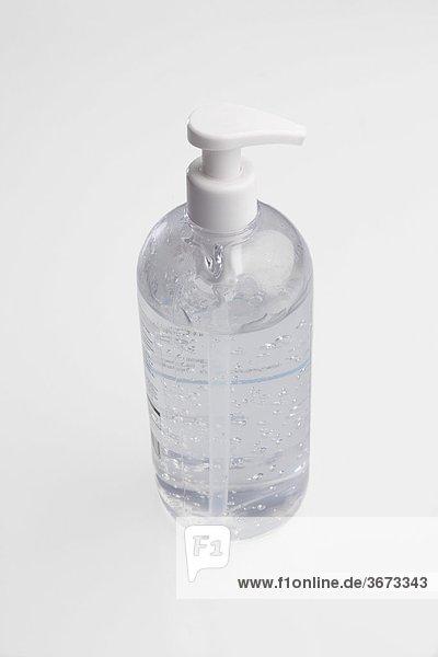 Close-up of a liquid soap dispenser
